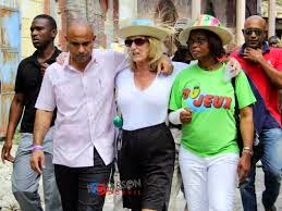 Laurent Lamothe et Pamela White