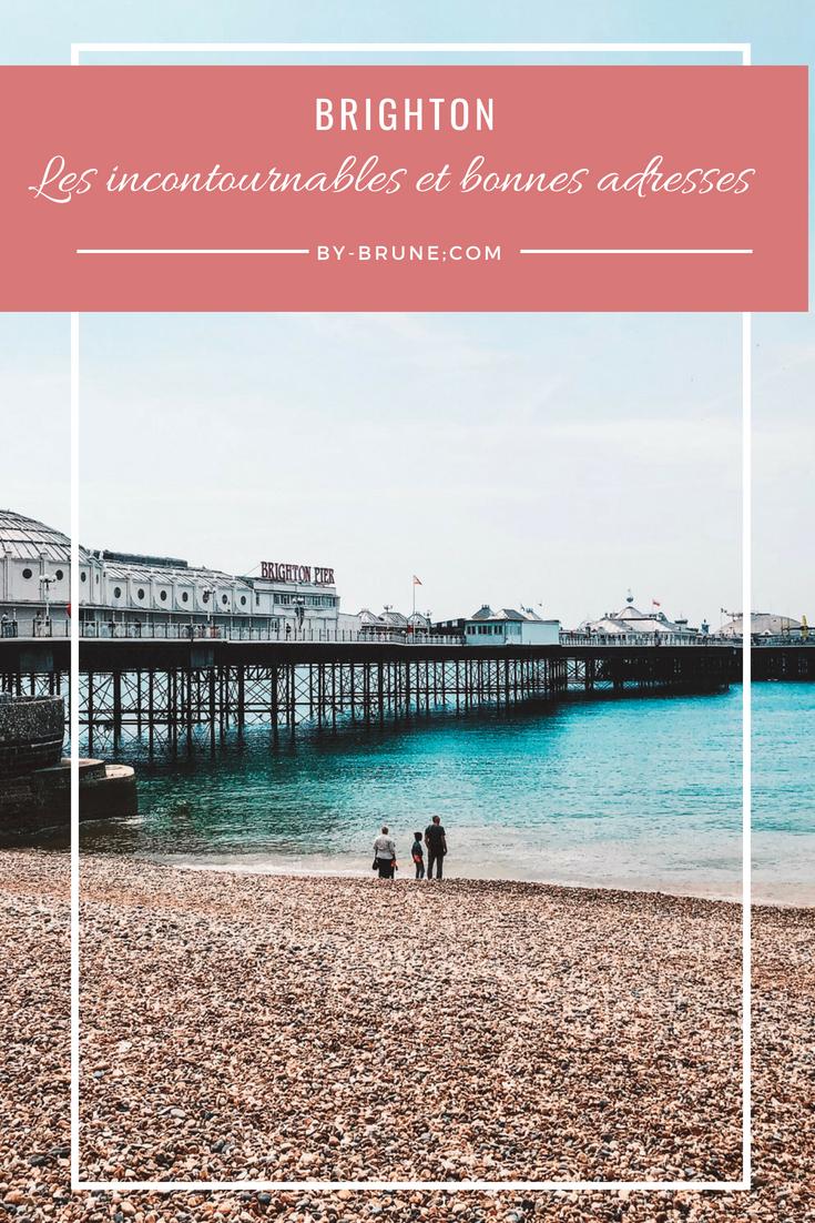 Je vous emmène avoir moi pour vous partager les endroits que je pense être les plus incontournables de Brighton. Je vous partage également deux bonnes adresses à tester.