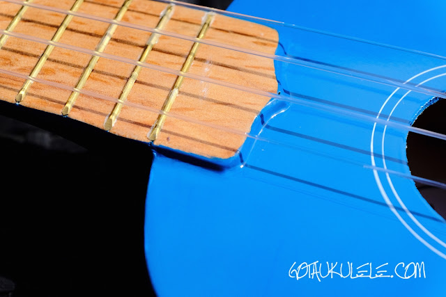Gear4Music Soprano Ukulele paint
