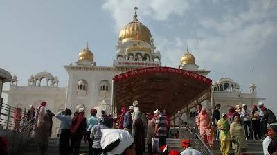 Bangla Sahib, Baba Khadak Singh Marg