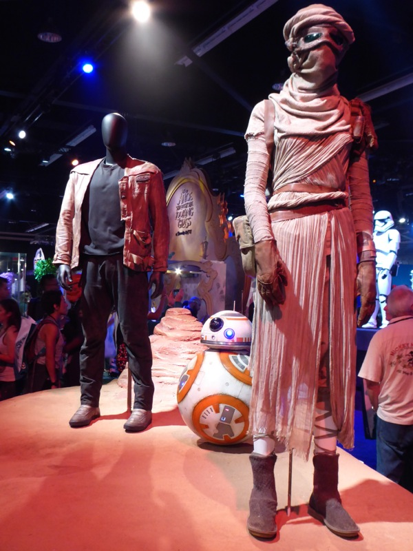 Original Finn Rey Star Wars Force Awakens movie costumes