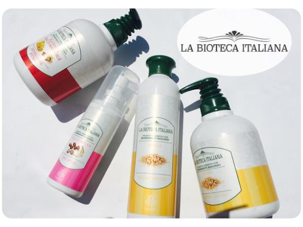 LA BIOTECA ITALIANA: SAPONE LIQUIDO, BAGNO DOCCIA, DETERGENTE INTIMO, DEODORANTE