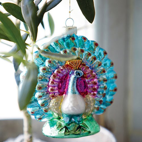 Peacock Ornaments On Pinterest