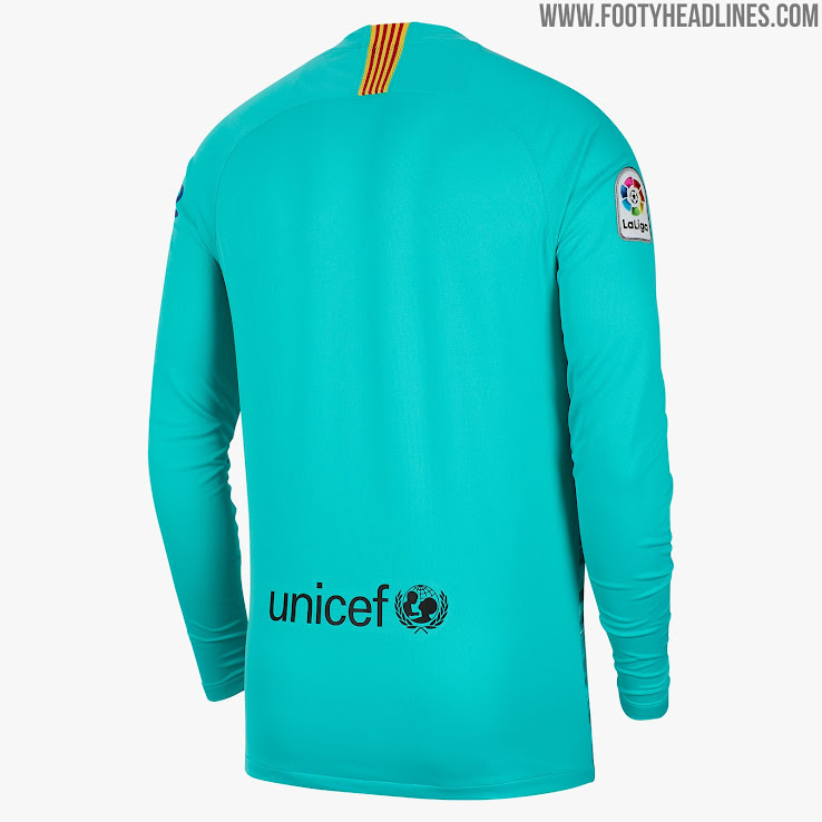 new concept 9c623 45e85 Barcelona 19-20 Goalkeeper Home Kit Released - Footy Headlines