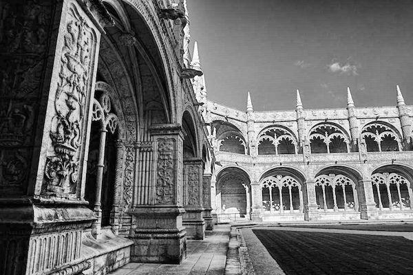 歴史的世界遺産的建築:ジェロニモス修道院