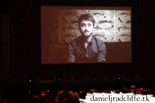 Imperium screening in Hopewell: Daniel Radcliffe's video message