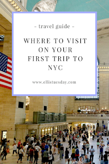 new york first timers itinerary