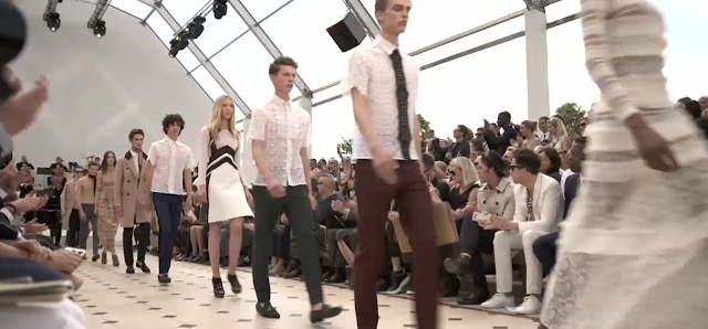 Burberry Men's Spring/Summer 16 Runway & Bags Report