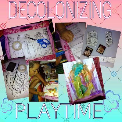 Decolonizing Playtime and Exploring Different Perspectives At Home.