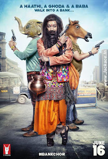 Bank Chor's First Look Poster