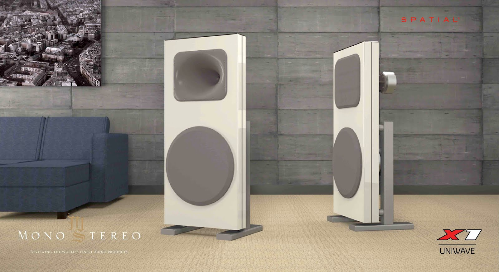 Mono and Stereo High-End Audio Magazine: Spatial Audio X1 Uniwave