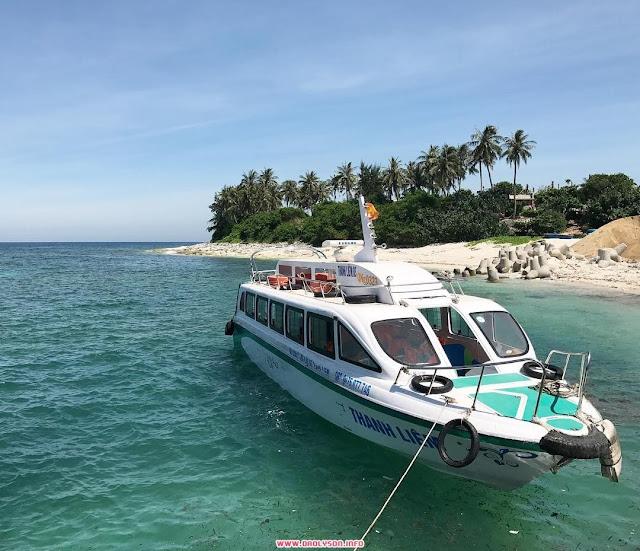 Tàu cao tốc đảo Bé