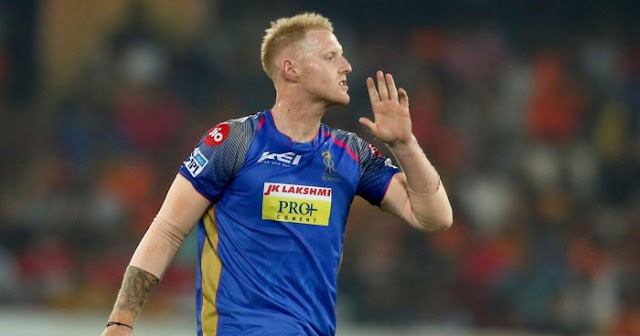 Ben Stokes 5 Worst Investment of IPL 2018
