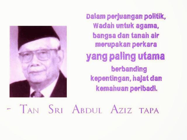 UMNO Rakam Takziah Tokoh Melayu Terbilang 2016, Aziz Tapa Meninggal Dunia