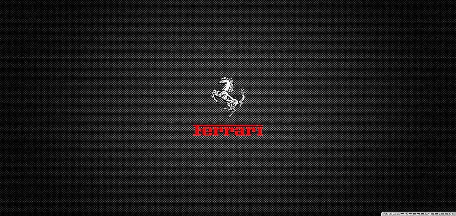 Black Ferrari Logo Wallpaper | Best HD Wallpapers