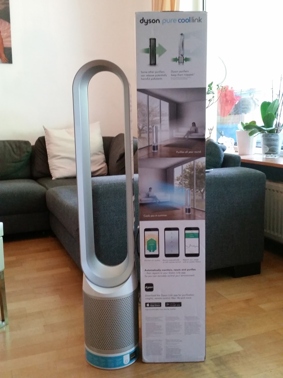 dyson pure cool link tower im test luftreinigung und k hlung in einem wirksam gegen pollen und. Black Bedroom Furniture Sets. Home Design Ideas