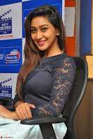 Shravya in skirt and tight top at Vana Villu Movie First Song launch at radio city 91.1 FM ~  Exclusive 45.JPG