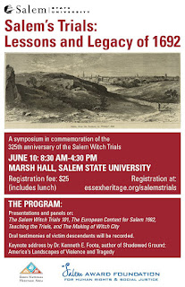 Salem's Trials symposium