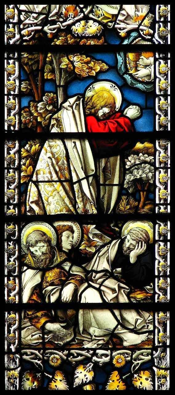 Oração no Horto. Igreja de Saint James, Londres