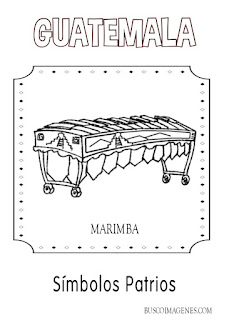 descarga Marimba para colorear