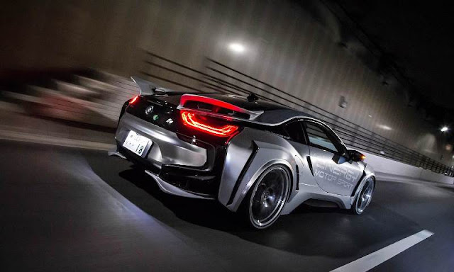 BMW i8 EVO Cyber Edition