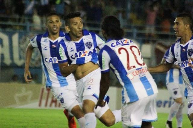 Paysandu empata com Paraná e se mantém na Série B