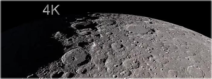 Tour pela Lua em 4K