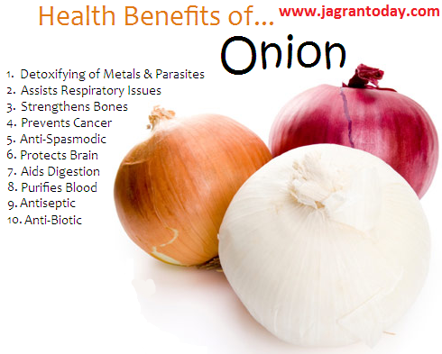 Great Surprising Health Benefits of Onion