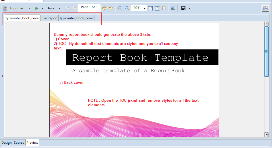 how to make a cover page for a book report