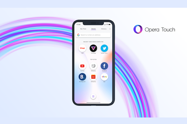 Opera Touch browser for iPhone launched