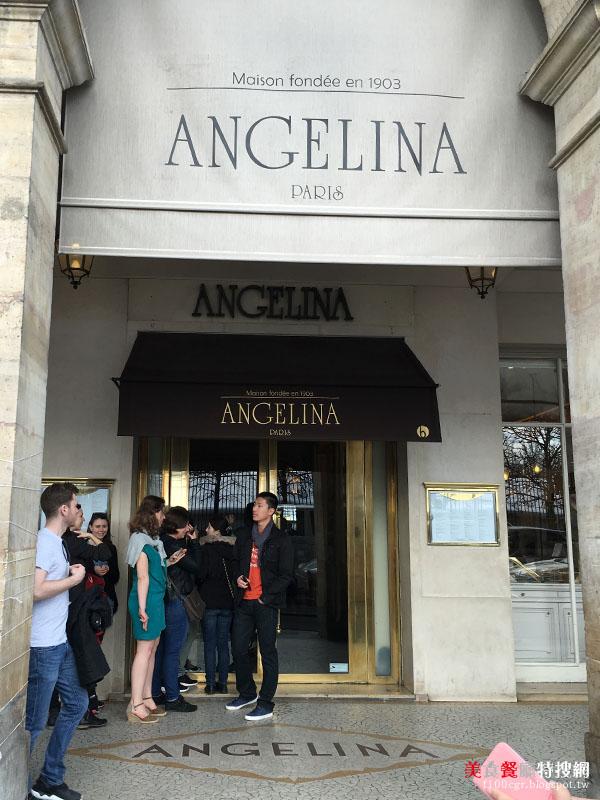 [法國] 巴黎/羅浮宮【Angelina】法國百年老店 傳說中的栗子蛋糕