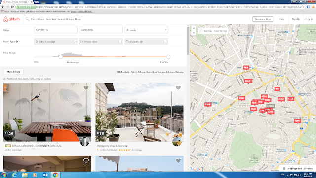 Airbnb.com Search Results