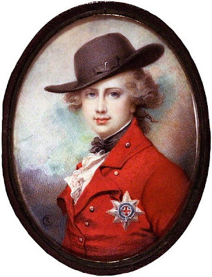Miniature of George IV by Richard Cosway