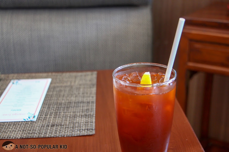 Mango Tree's Thai Lemon Iced Tea
