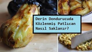 Derin Dondurucuda Közlenmiş Patlıcan Nasıl Saklanır?