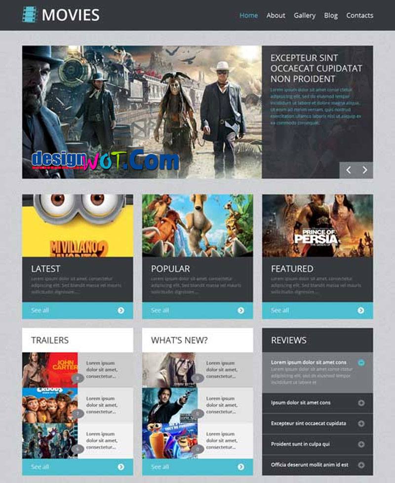 Movies Responsive WordPress Themes