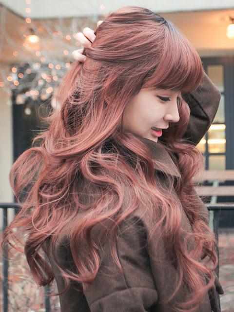 Model Gaya Rambut Cewek  Ala Orang Korea