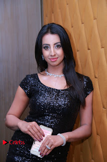 Actress Sanjana Galrani Pictures in Jeans at Tollywood Thunder Franchise Launch  0061.JPG