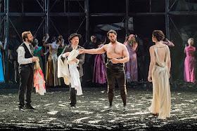 Bizet: Carmen - Tiago Matos, Christophe Poncet de Solages, Philip Rhodes, Na'ama Goldman The Grange Festival 2017 (Photo ©Robert Workman)