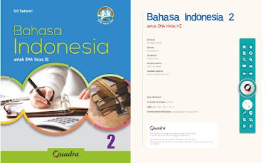 Buku Bahasa Indonesia XI berbasis Digital Kurikulum Pendidikan Edisi Revisi