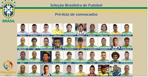 Alagoano Roberto Firmino é 1 dos 40 pré-convocados para a Copa América