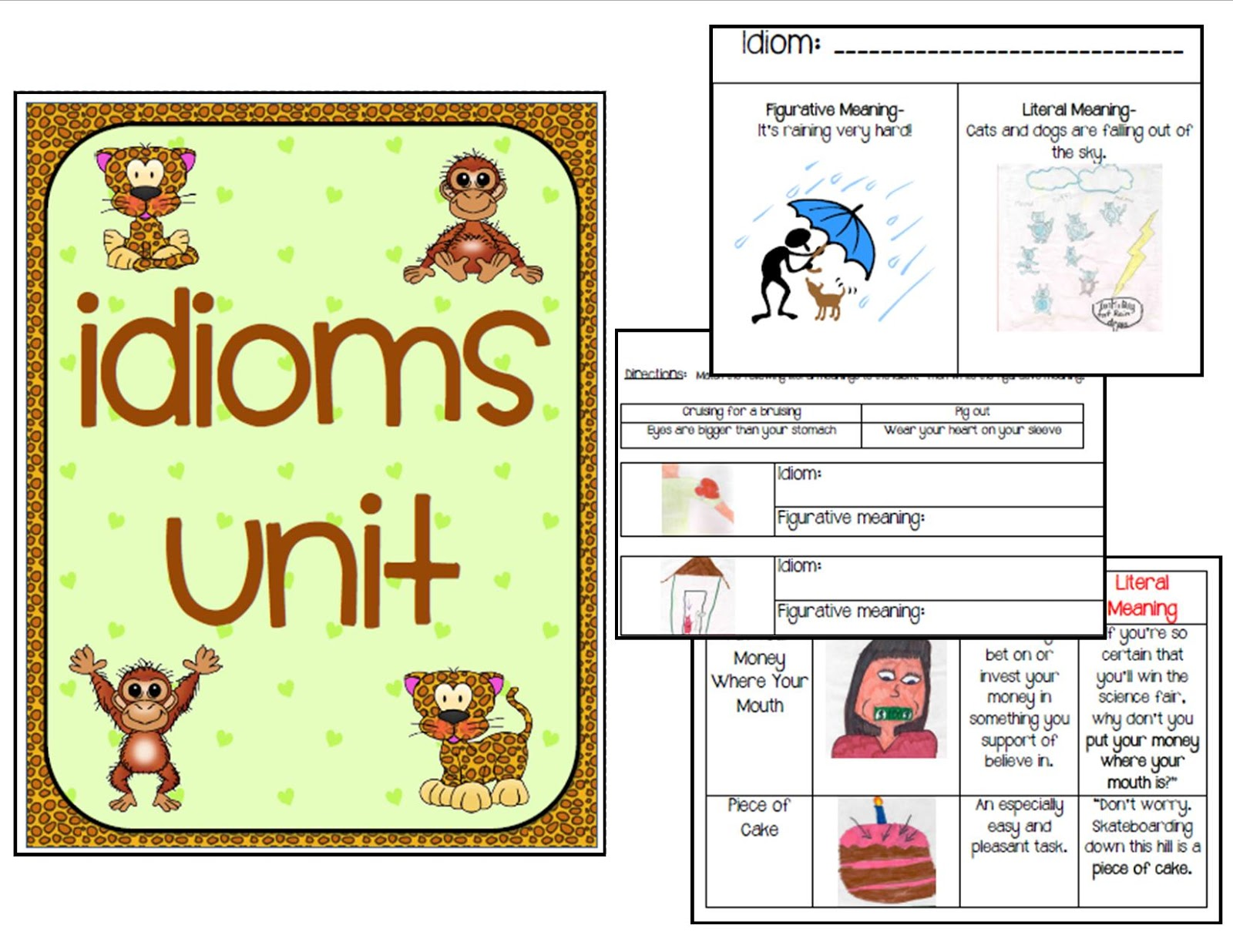Ms Third Grade Idioms Unit