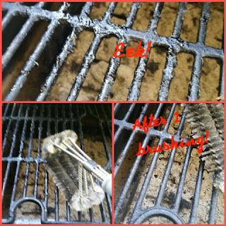 bbq grill brush collage 1