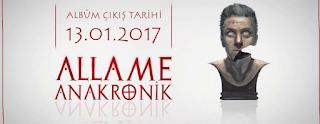 Allame Anakronik Albümü şarkı sözleri