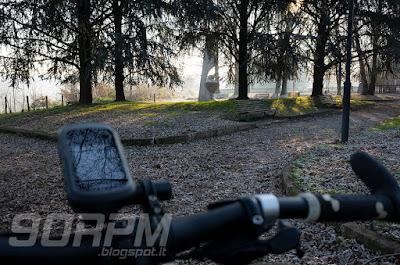 Parco del Lura: Cadorago, tra il cimitero e la linea ferroviaria.