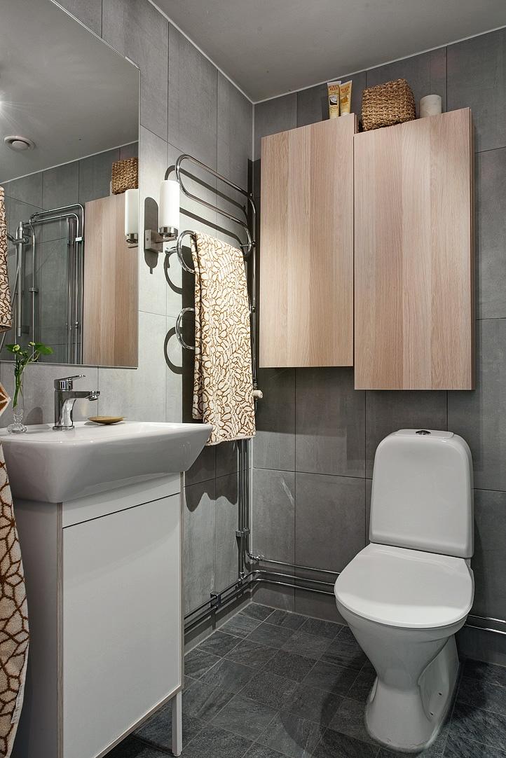 ideas para decorar un piso de alquiler- baño