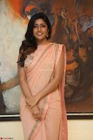 Eesha Rebba in beautiful peach saree at Darshakudu pre release ~  Exclusive Celebrities Galleries 053.JPG