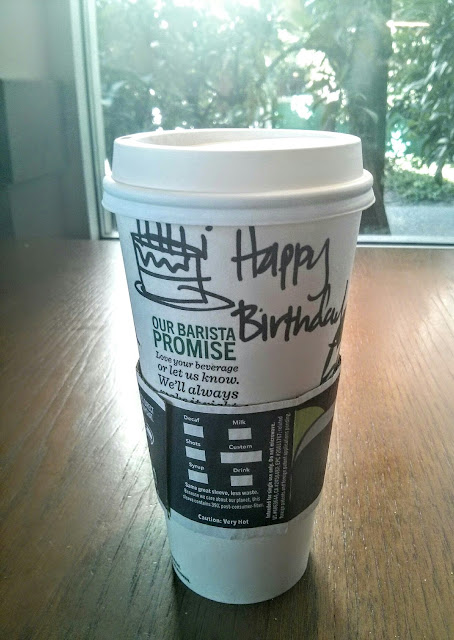 free starbucks birthday drink