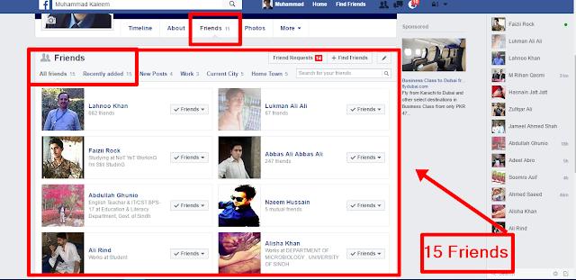 Unfriend All Facebook Friends see 15