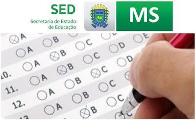 Concurso da SED-MS Carreira Profissional